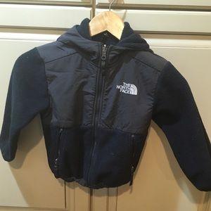 Boys the north face denali fleece jacket xxs